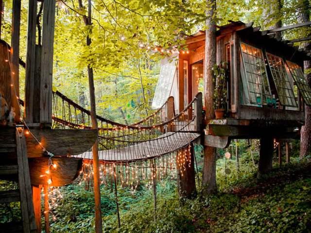 Las 20 mejores casas en árboles del mundo