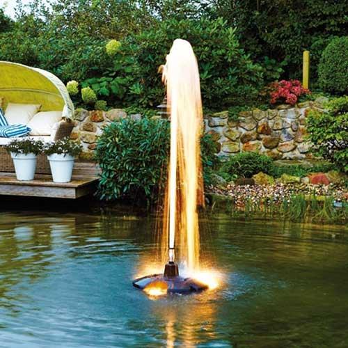 Estanques y peque as fuentes for Aireadores para estanques piscicolas