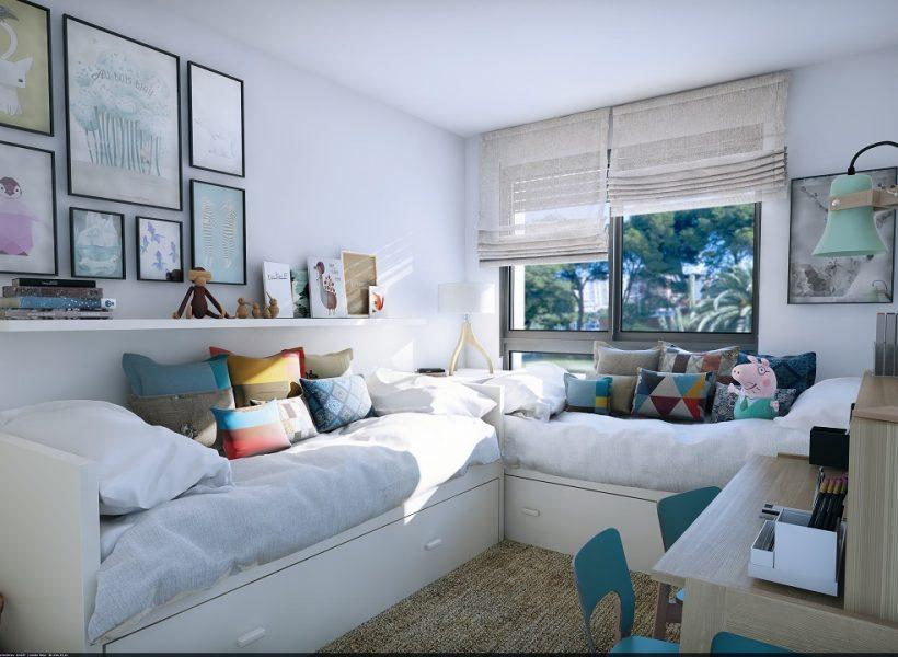 habitacion infantil de una vivienda en jardines de olimpo