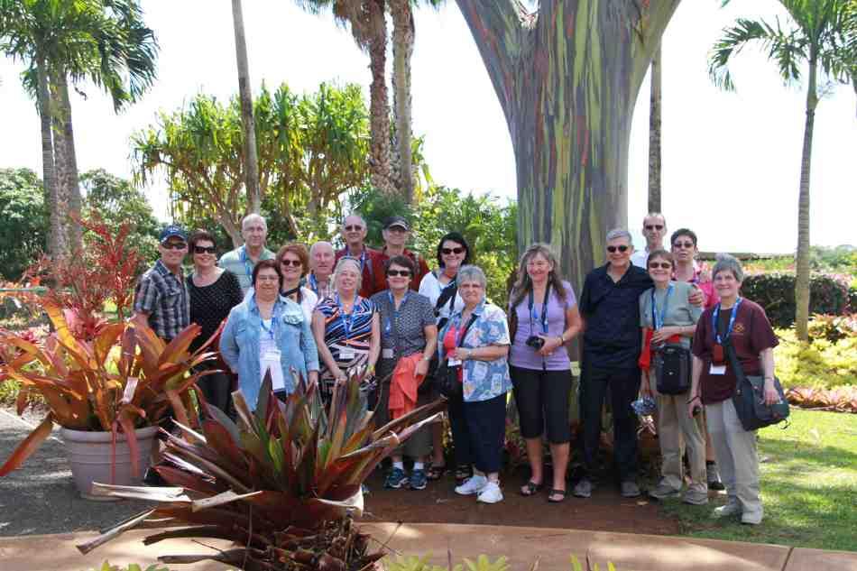 Photo de groupe 1 - Dole Plantation