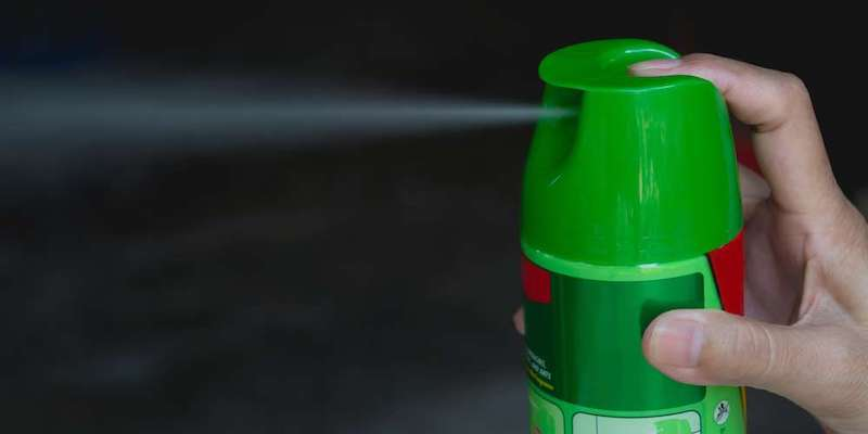Vaporisation de pesticide