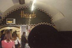 Heading to Harrod's