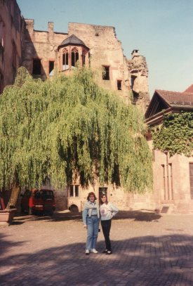 The Castle of Heidelberg