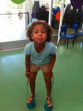 Malina on stilts