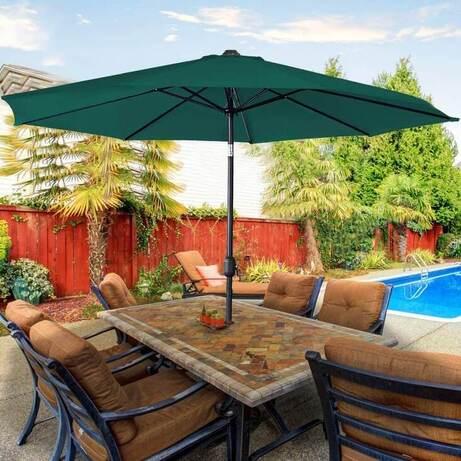 sombrillas de jardin y terraza baratas