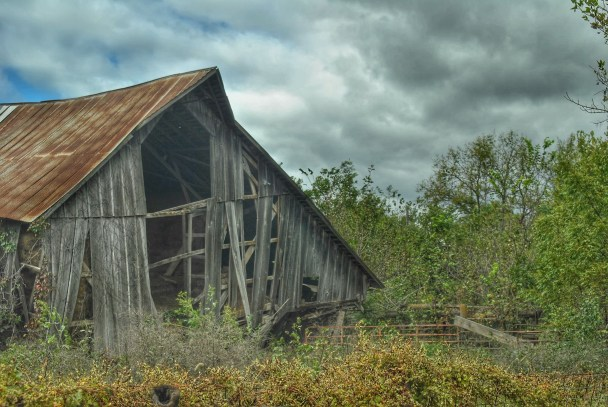 An old barn near my house.