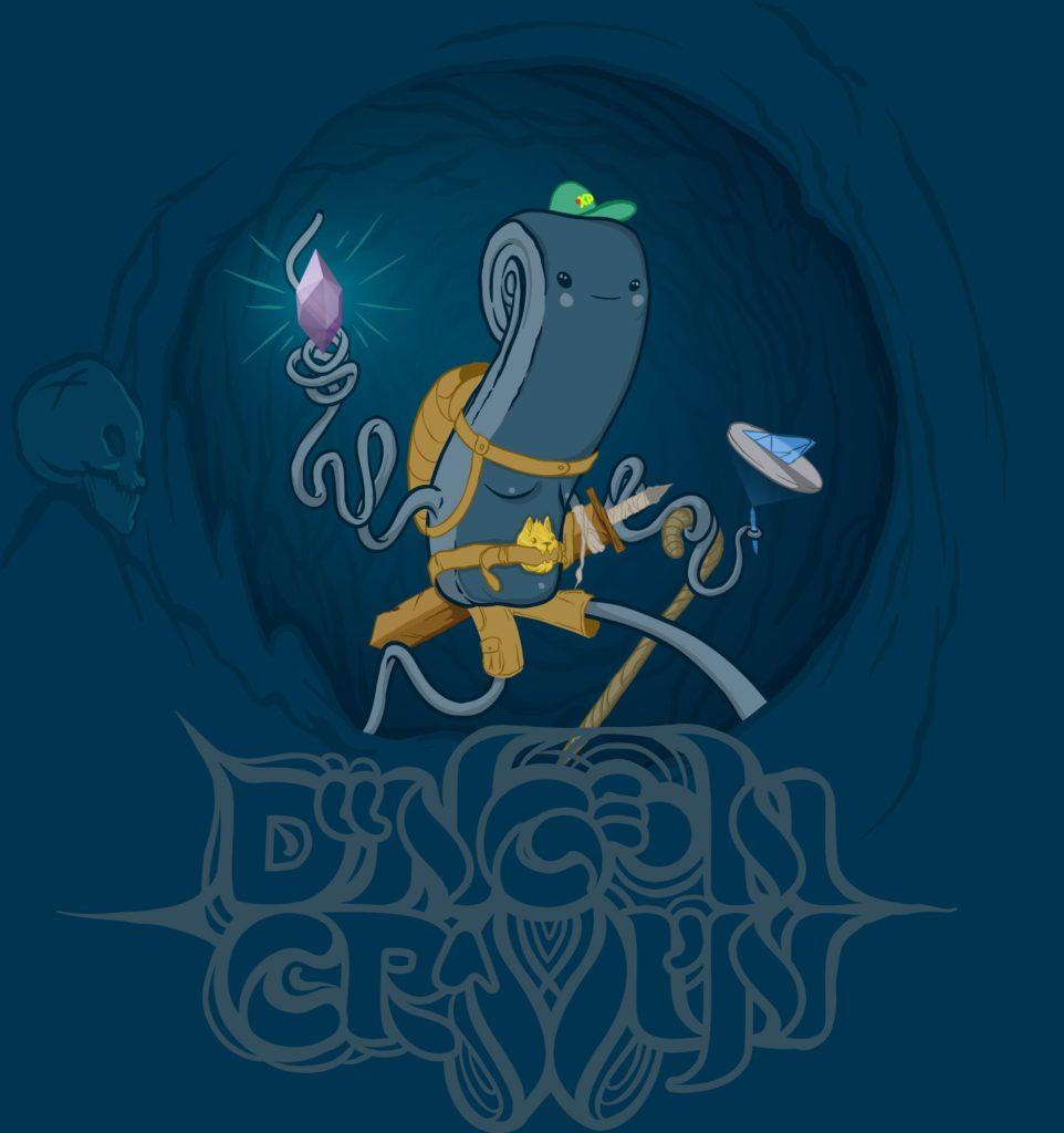 Dungeon Crawlin' Original Illustration