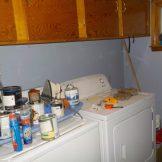 Organizing the laundry room...