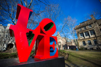 Love Sign University of Pennsylvania