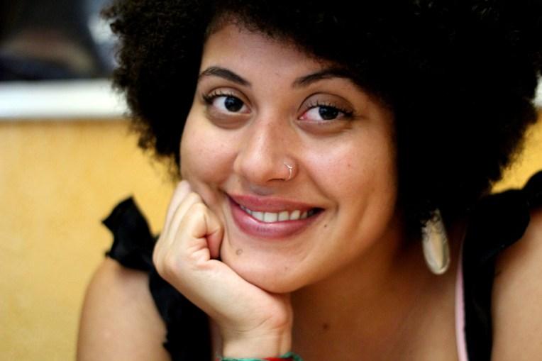 Carla Ribeiro. In Ouro Preto, Minas Gerais, Brazil, February 2014
