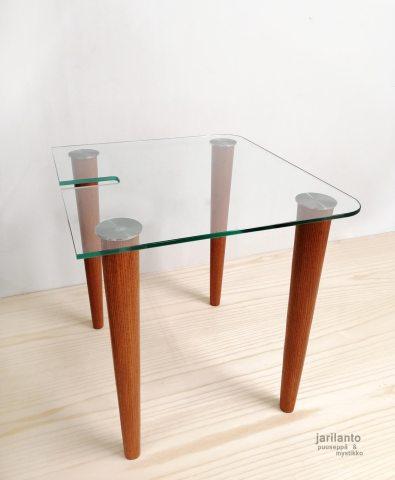 Lasipöydän jalat - Saarni