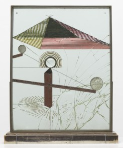 Marcel Duchamp, To Be Looked at (from the Other Side of the Glass) with One Eye, Close to, for Almost an Hour (1918)
