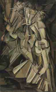 Marcel Duchamp, Nude Descending a Staircase (1912)