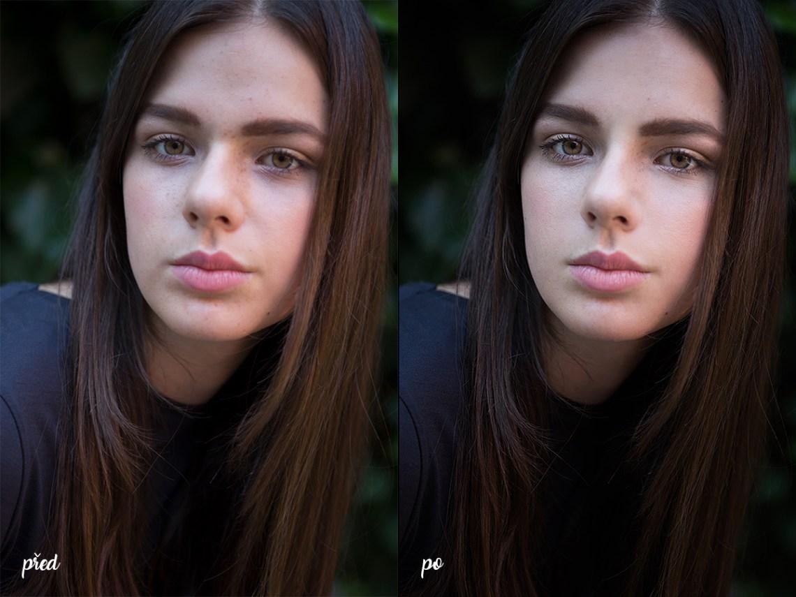 Jak upravovat portréty
