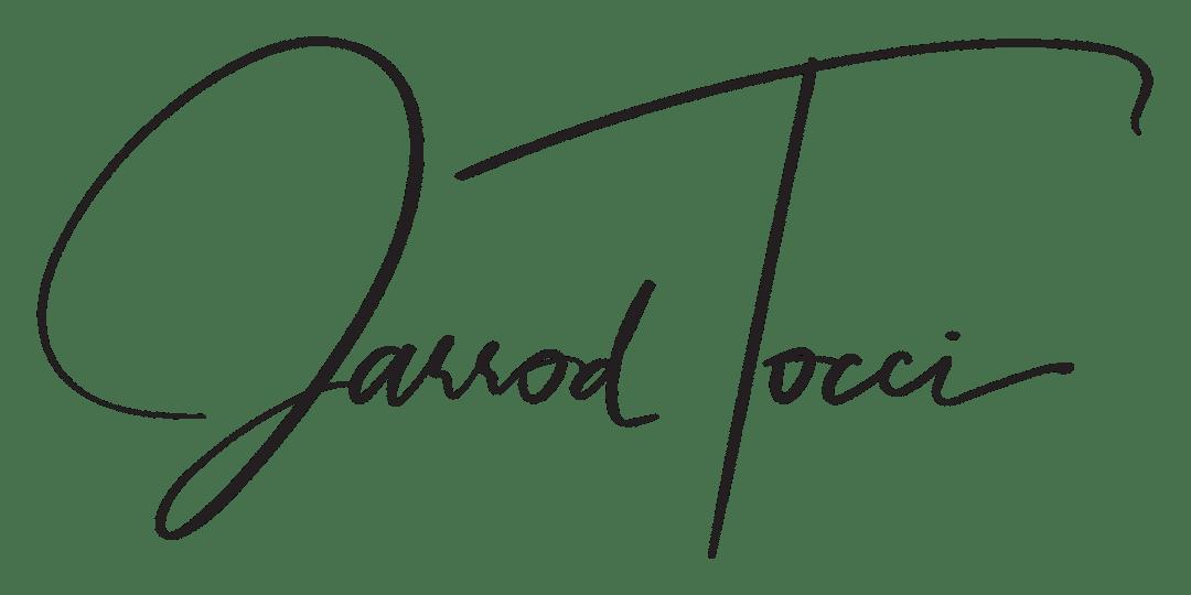 jarrod tocci signature logo