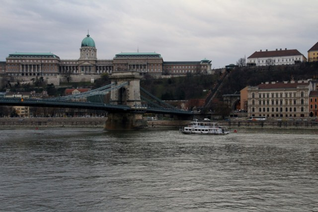 Buda Castle or Royal Palace and Chain Bridge
