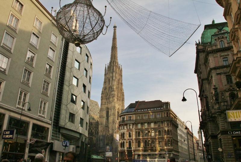 Stephansdom Church tower
