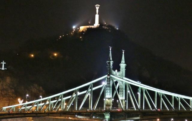 Liberty Bridge and Liberty Statue