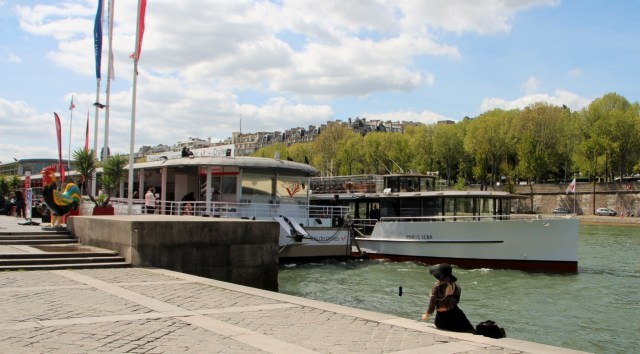 Parisiena Cruise on the Seine