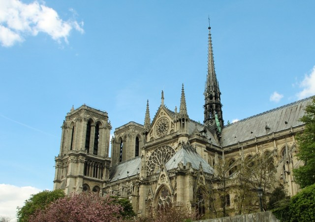 Notre Dame from Seine River