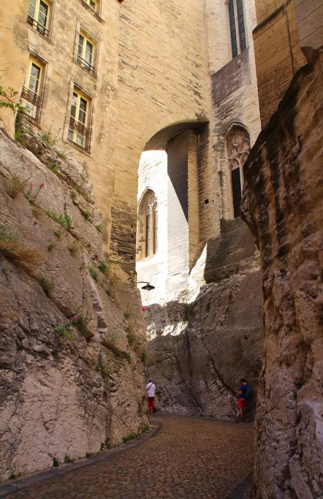 narrow winding streets