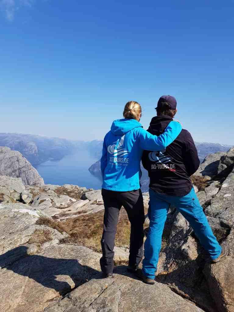 Rainerknuten Wanerung Norwegen mit JAS-TOURS.DE