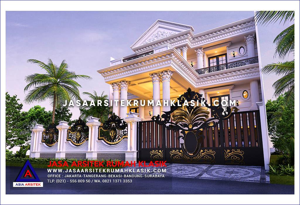Jasa Arsitek Desain Rumah Klasik Di Perumahan Citraland Losari Makassar