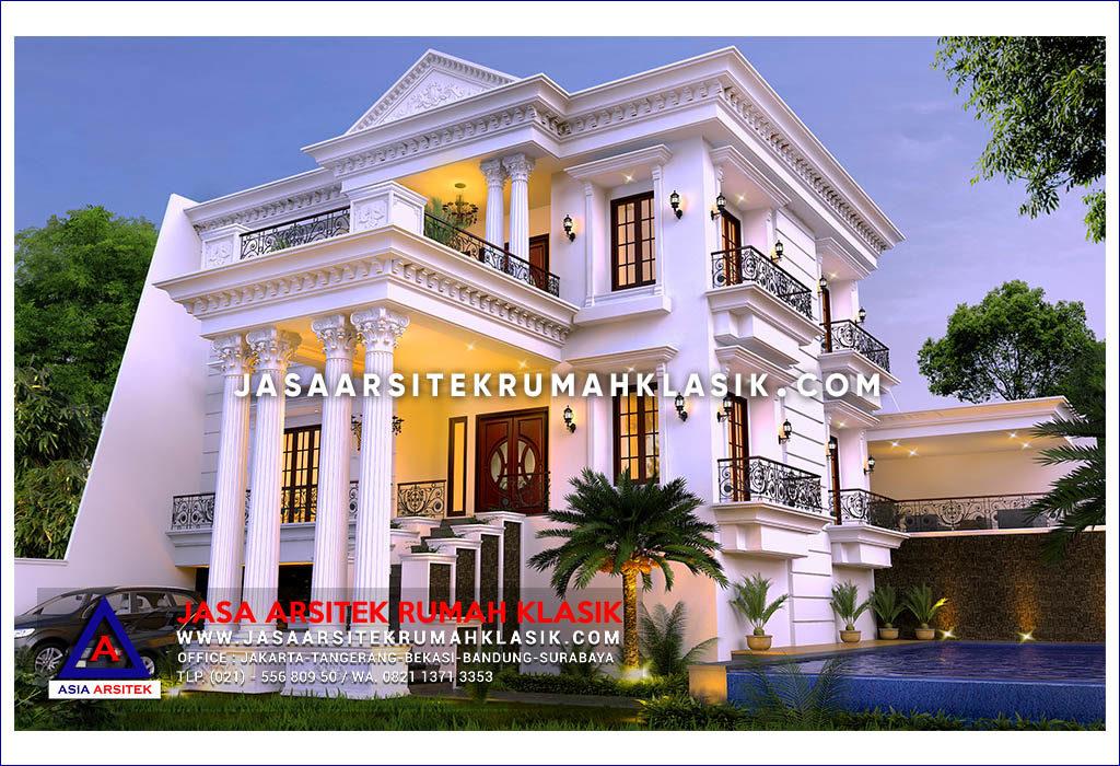 Jasa Arsitek Desain Rumah Klasik Mewah Di Sentul Jawa Barat