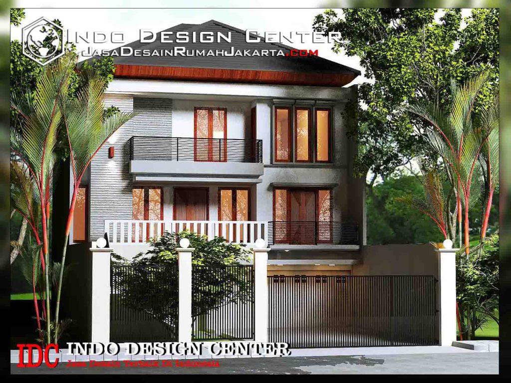 Desain Rumah 3 Lantai Pak Ansari