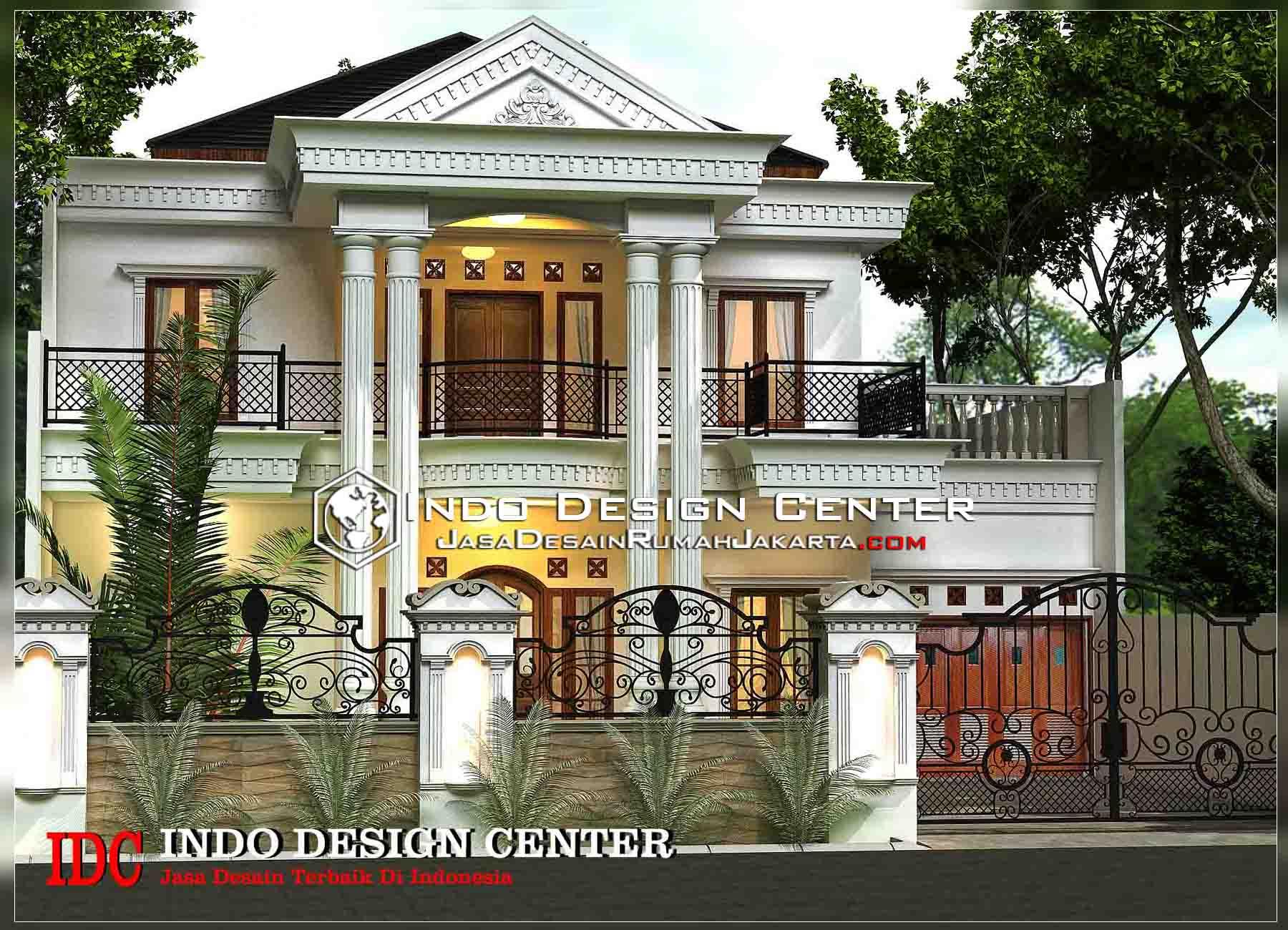 Desain Rumah 2 Lantai Mediterania Sobat Interior Gambar Dua