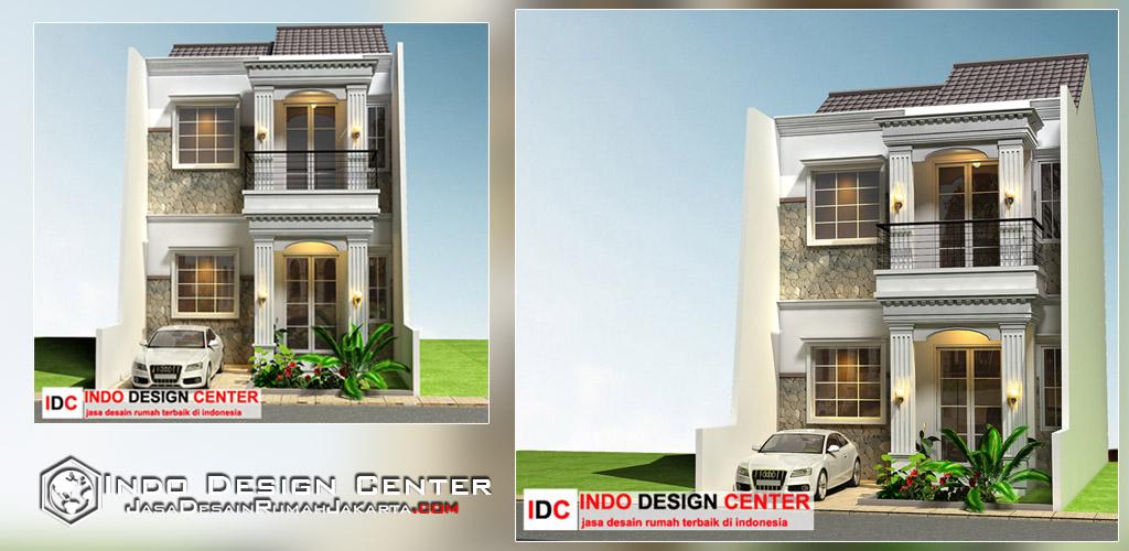 Desain Rumah Minimalis 2 Lantai Konsep Mediterania Arsip