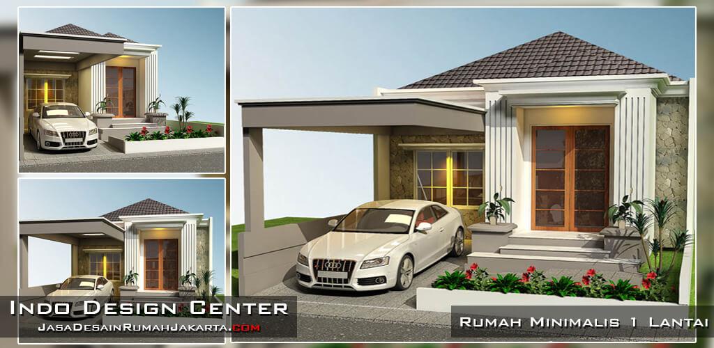 Jasa Arsitek Desain Rumah Minimalis 1 Lantai di Jakarta