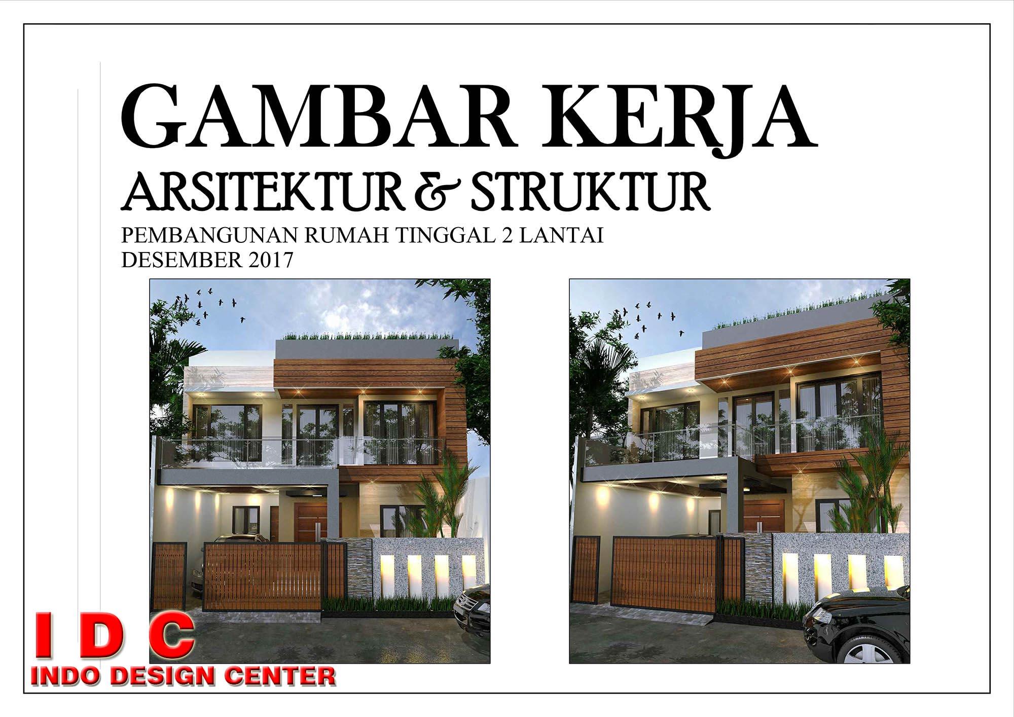 Gambar Kerja Rumah Minimalis 2 Lantai Lengkap Desain Rumah Minimalis