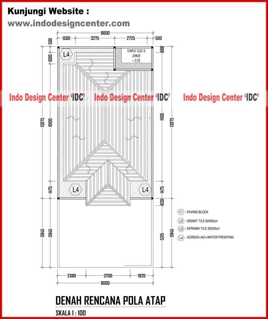 Pola Desain Arsitektur: Gambar Kerja Rumah Tinggal Arsip