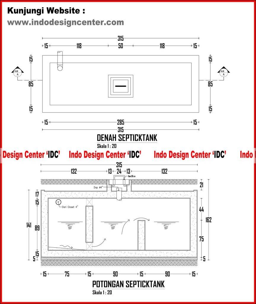 035Detail Septicktank 1 Jasa Desain Rumah Jakarta Jasa Gambar