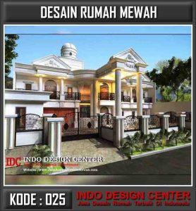 Arsitek Desain Rumah Mewah Bapak Achmad