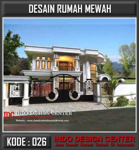 Arsitek Desain Rumah Mewah Bapak Farid Assyraaf