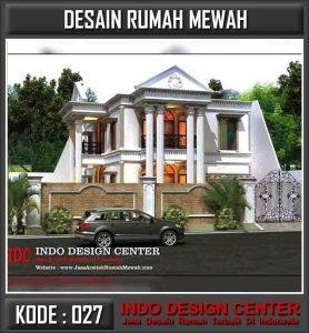 Jasa Desain Rumah Mewah Bapak Zulfadli