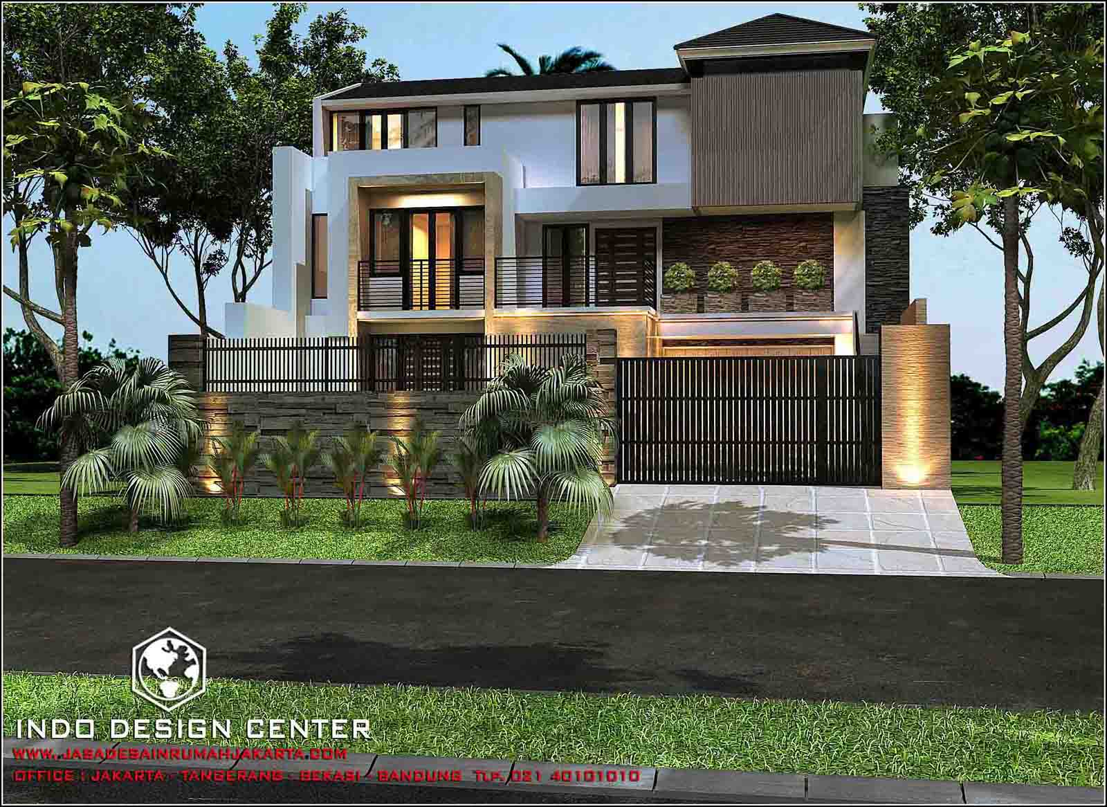 Rumah Minimalis 3 Lantai Tampak Minimalis 2 Lantai Jasa Desain