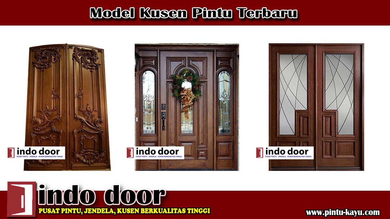 Model Kusen Pintu Terbaru Jual Pintu Kayu Model Pintu