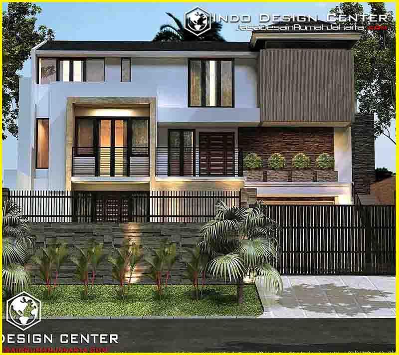 Gambar Desain Rumah Villa Terbaik ... & Gambar Desain Rumah Villa Terbaik - Jasa Desain Rumah Jakarta