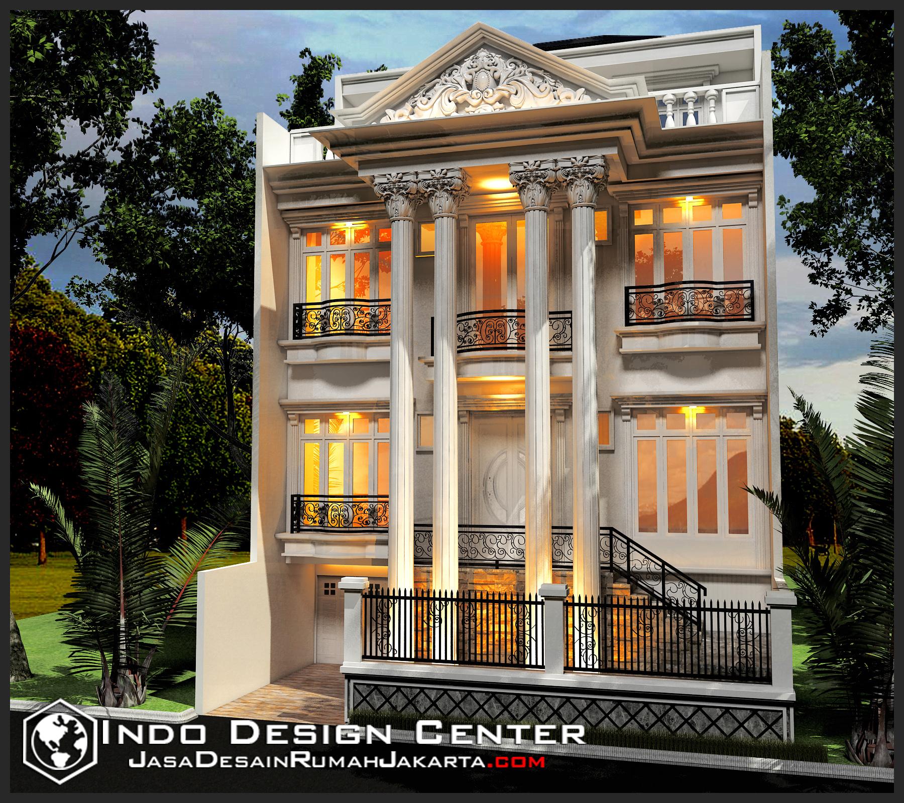 contoh gambar rumah klasik arsip jasa desain rumah