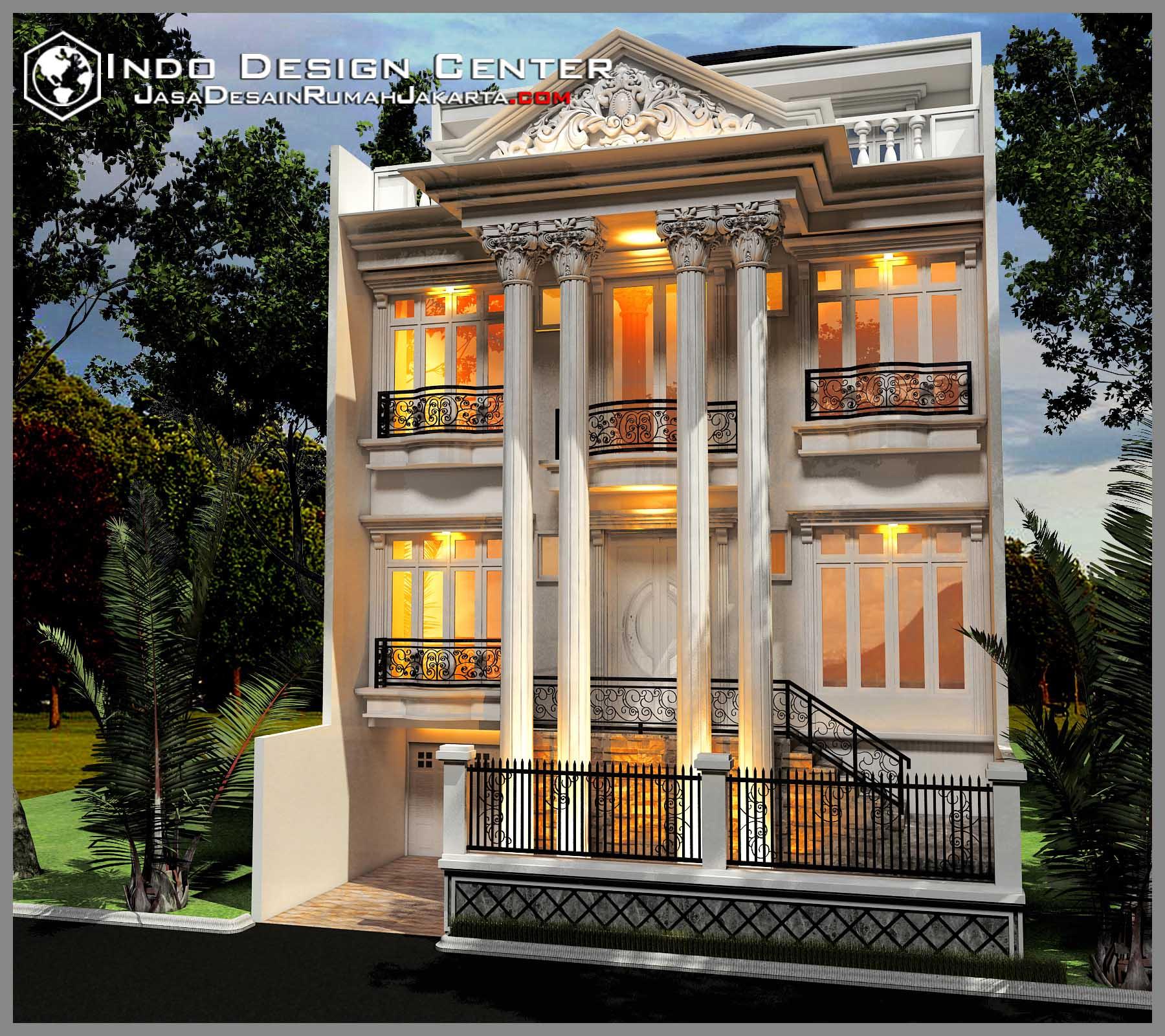Gambar Rumah Mewah Mediterania, Jasa Desain Rumah Jakarta