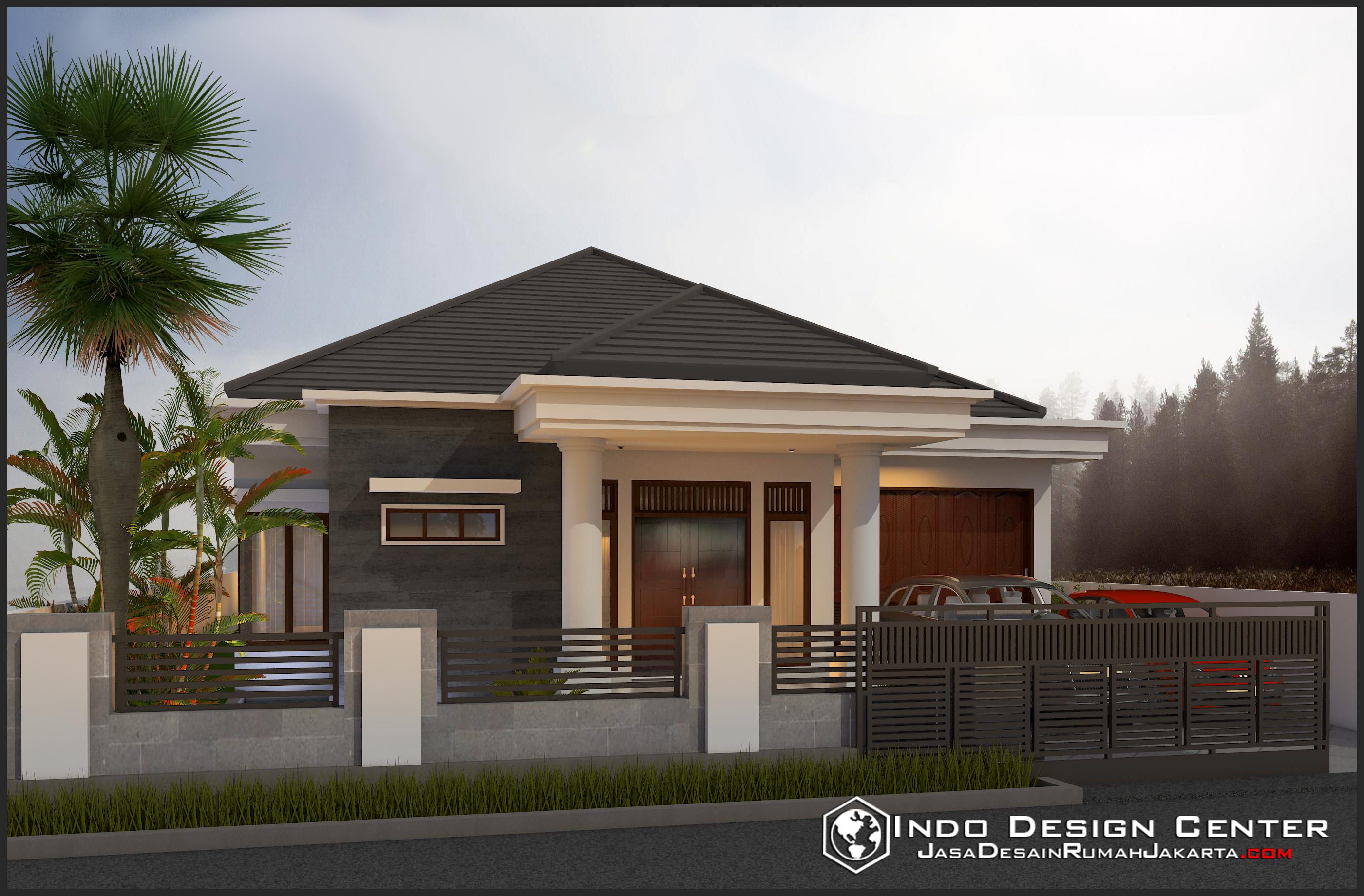gambar rumah sederhana bapak ginting arsip jasa desain