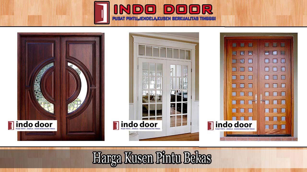 Harga Kusen Pintu Bekas Desain Pintu Kayu Minimalis Modern