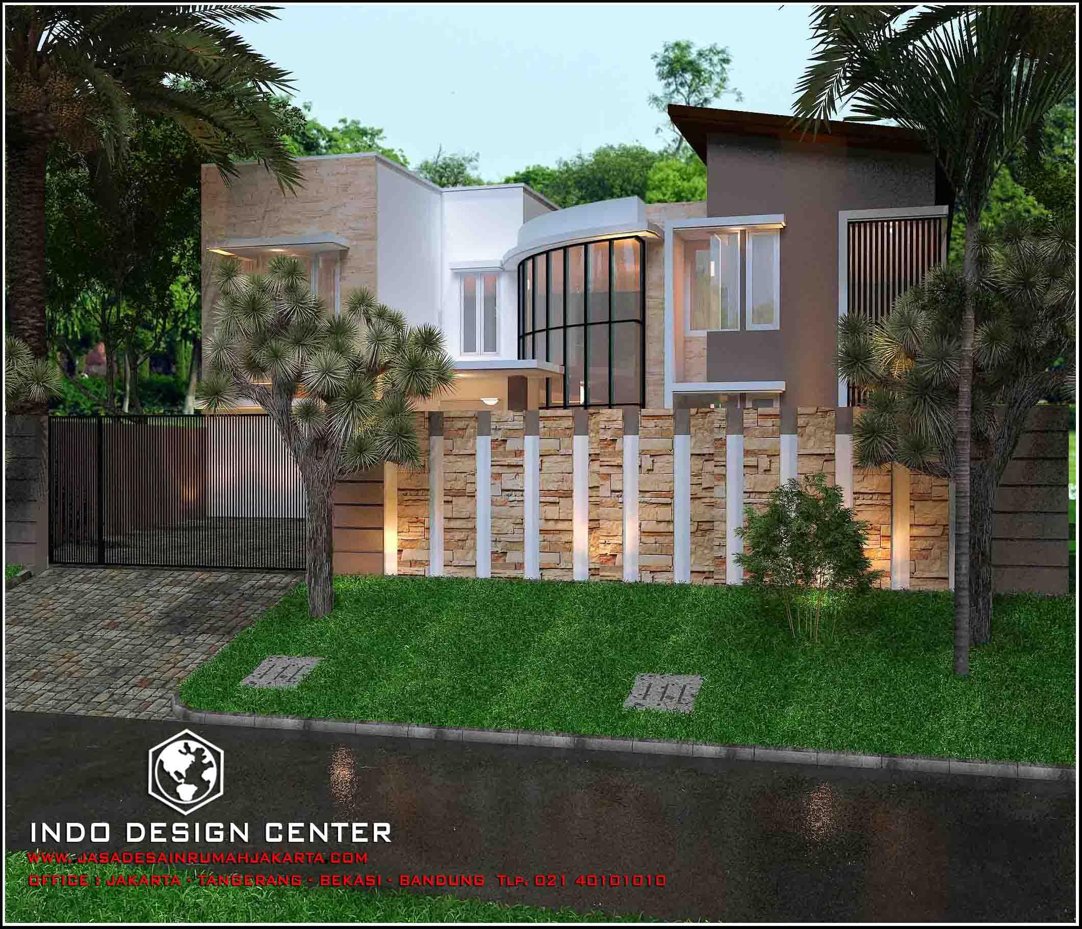 Jasa arsitek rumah di jakarta desain rumah bapak hengki for Arsitek di jakarta