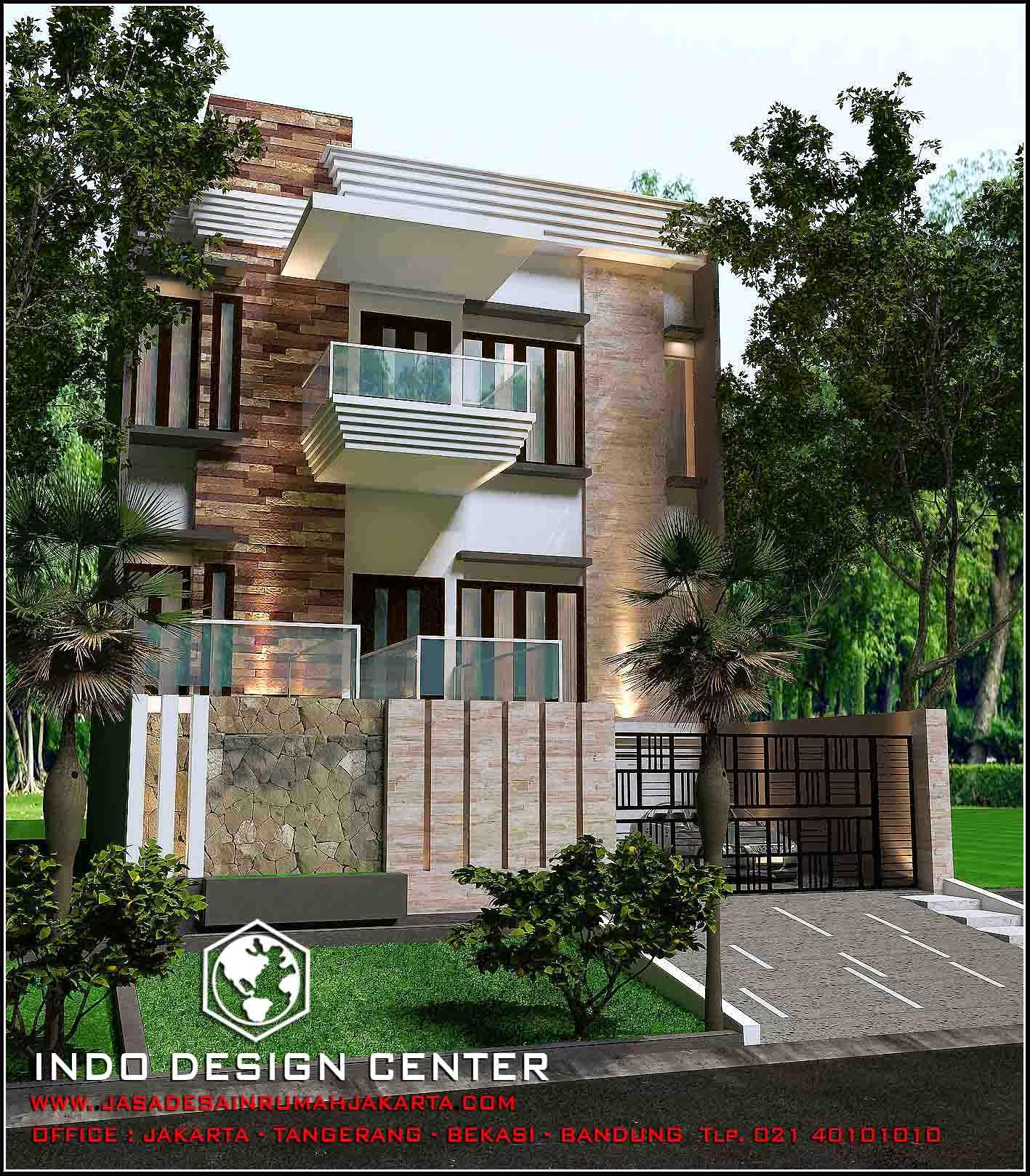 12 Desain Rumah Minimalis Modern 2 Lantai Mewah: Model Rumah Minimalis 2 Lantai Modern