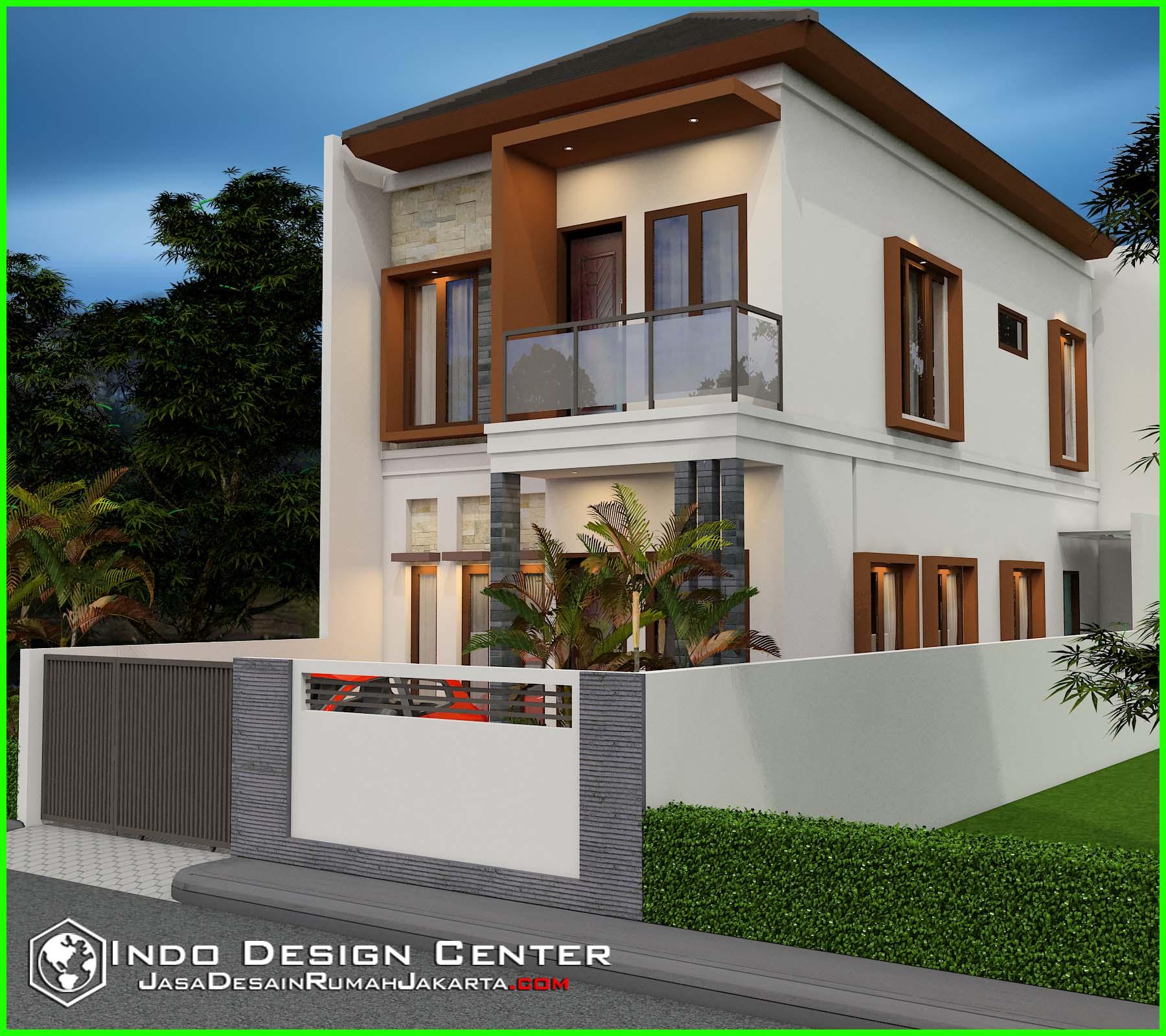 Rumah Minimalis Berkonsep Villa Mewah Jasa Desain Rumah Jakarta
