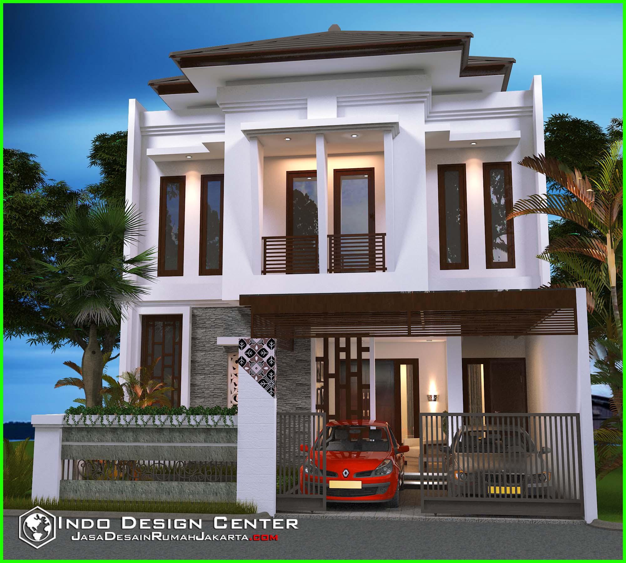 Contoh Karya Jasa Desain Rumah: Rumah Minimalis Berkonsep Villa Mewah, Jasa Desain Rumah