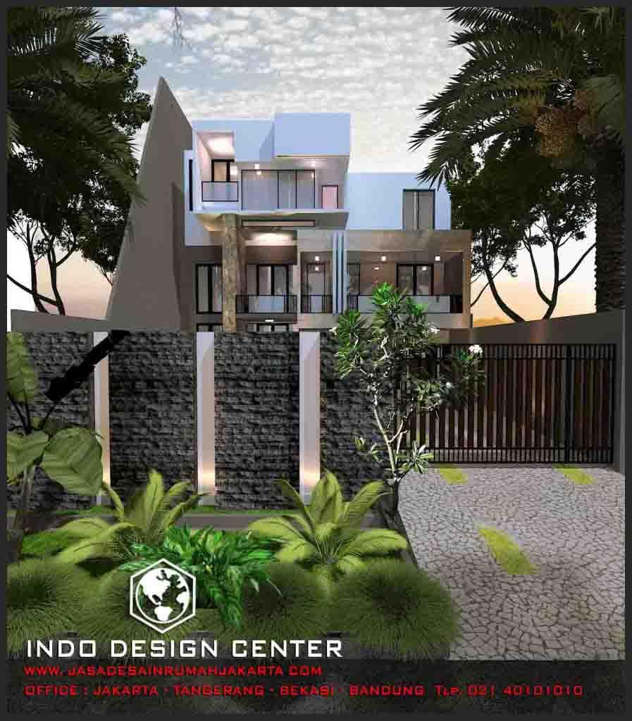 Interior kantor minimalis tropis 3 lantai - Rumah Minimalis Modern 3 Lantai